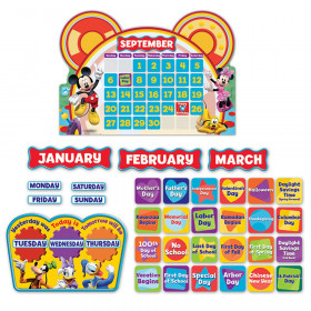 Mickey Mouse Clubhouse Calendar Bulletin Board Set