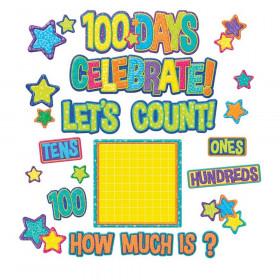 100 Days Bulletin Board Set