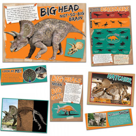 Smithsonian Amzing Dinosaurs Mascot Bulletin Board Sets