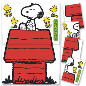 Giant Character Snoopy and Dog House Bulletin Board Set