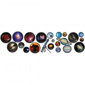 Hubble Images Decorative 5Pnl Bulletin Board Set