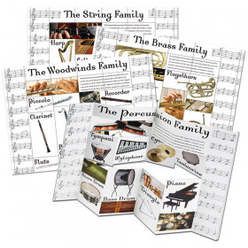 Musical Instrument Categories Dimensional Bulletin Board Set