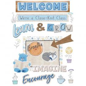 A Close-Knit Class Welcome Set Bulletin Board Set