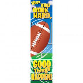 Football Motivational Banner 4Ft