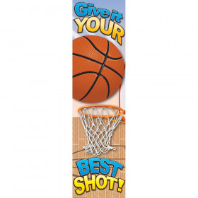 Basketball Motivational Banner 4Ft