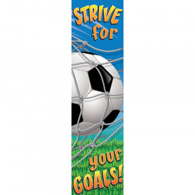 Soccer Motivational Banner 4Ft