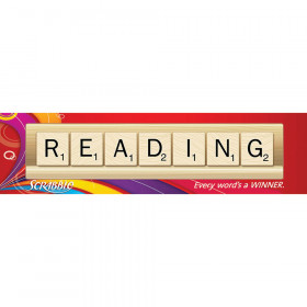 Scrabble Reading Classroom Banner