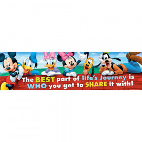 Mickey Friendship Classroom Banner