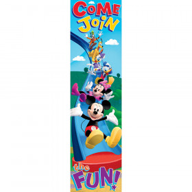 Mickey Mouse Clubhouse Come Join The Fun Vertical Banner