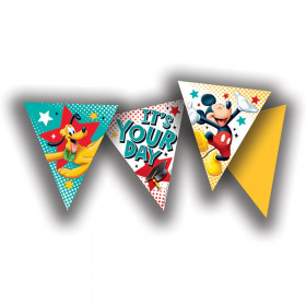 Mickey Graduation Pennant Banners