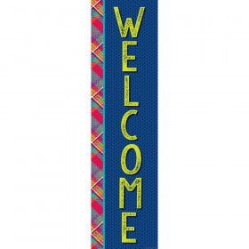 Plaid Attitude - Welcome Banners - Vertical