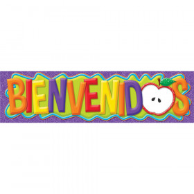 Color My World Spanish Welcome Banners - Horizontal