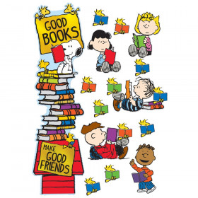 Peanuts Reading Door Decor Kit