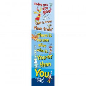 Dr Seuss Motivational Vertical Banner