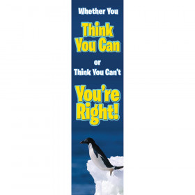 Whether You Think You Can Vertical Banner