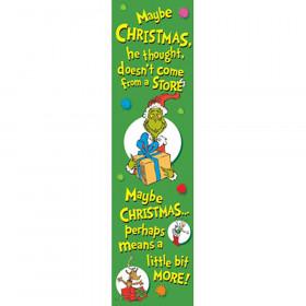 Dr Seuss The Grinch Vertical Banner Banner