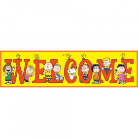 Peanuts Welcome Banner