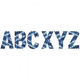 "Shibori Tie-Dye 7"" Deco Letters"