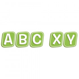A Teachable Town Street Sign Letters Deco Letters, 96 Pieces