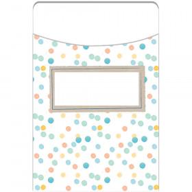 Confetti Splash Library Pockets