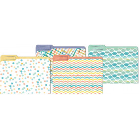 Confetti Splash File Folders