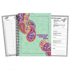 Positively Paisley Lesson Plan Book