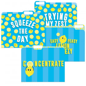 Always Try Your Zest File Folders, Pack of 4