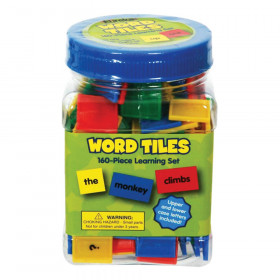 Tub of Word Tiles