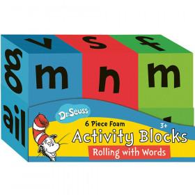 Dr. Seuss Rolling With Words Foam Activity Blocks
