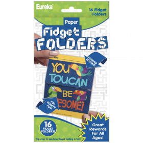 Fidget Folders, You Can Toucan