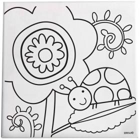 Love Bug Paint/Create Canvas Kit