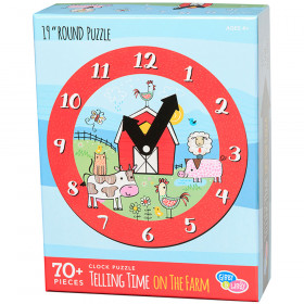 Learning To Tell Time  Farm Puzzle Round