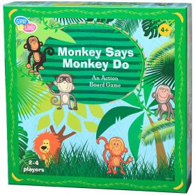 Monkey Say Monkey Do Paper Board Game