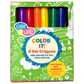 Primary Colors Gel Crayons