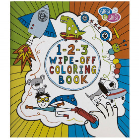 Boy 2 Wipe Off Coloring Book