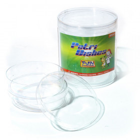 Petri Dishes, Extra Deep, Pack of 4