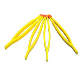 Plastic Tweezers, Set of 4