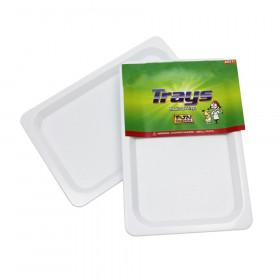 Plastic Trays, Set of 4