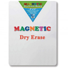 """Magnetic Dry Erase Board, 9"""" x 12"""""""