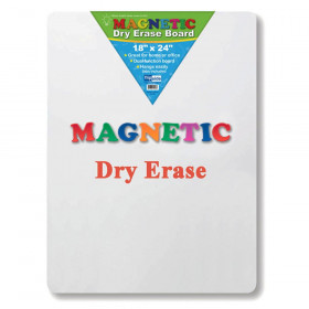 "Magnetic Dry Erase Board, 18"" x 24"""