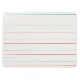 """Two-Sided Dry Erase Board, Plain/Ruled, 9"""" x 12"""""""