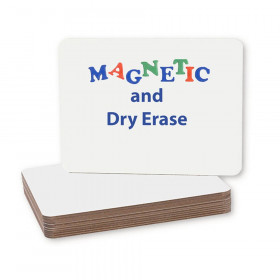 """Magnetic Dry Erase Board, 9"""" x 12"""", Pack of 12"""