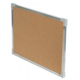 "Aluminum Framed Cork Board, 18"" x 24"""