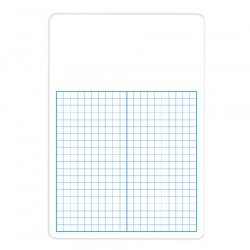 """1/2"""" Graph Dry Erase Board, 11"""" x 16, Pack of 12"""
