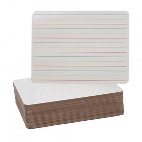 """Double-Sided Dry Erase Board, 9""""W x 12""""L, Pack of 24"""