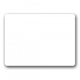 "Two-Sided Dry Erase Board, 6"" x 9"""
