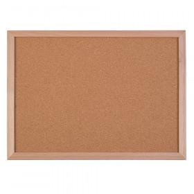 "Wood Framed Cork Board, 18"" x 24"""