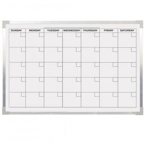 Aluminum Magnetic Calendar Bd 24X36