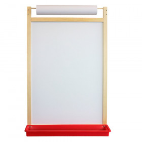 Magnetic Dry Erase Wall Easel with Paper Roll