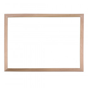 "Wood Framed Dry Erase Board, 18"" x 24"""